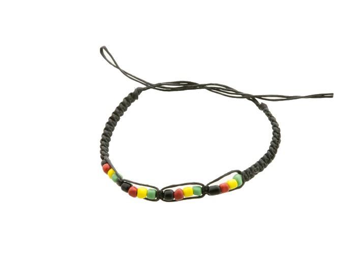 Bracelet bresilien amitie fil coton cire tresse rasta bob marley 8203 - Longueur fil bracelet bresilien ...