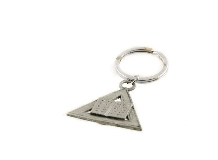 Porte cles delta compas et equerre franc maconnerie bijoux for Symbolique du miroir