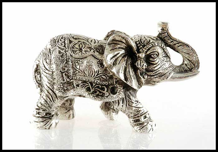 elephant en aluminium trompe en l 39 air statuette elephant elephant artisanat figurines et. Black Bedroom Furniture Sets. Home Design Ideas