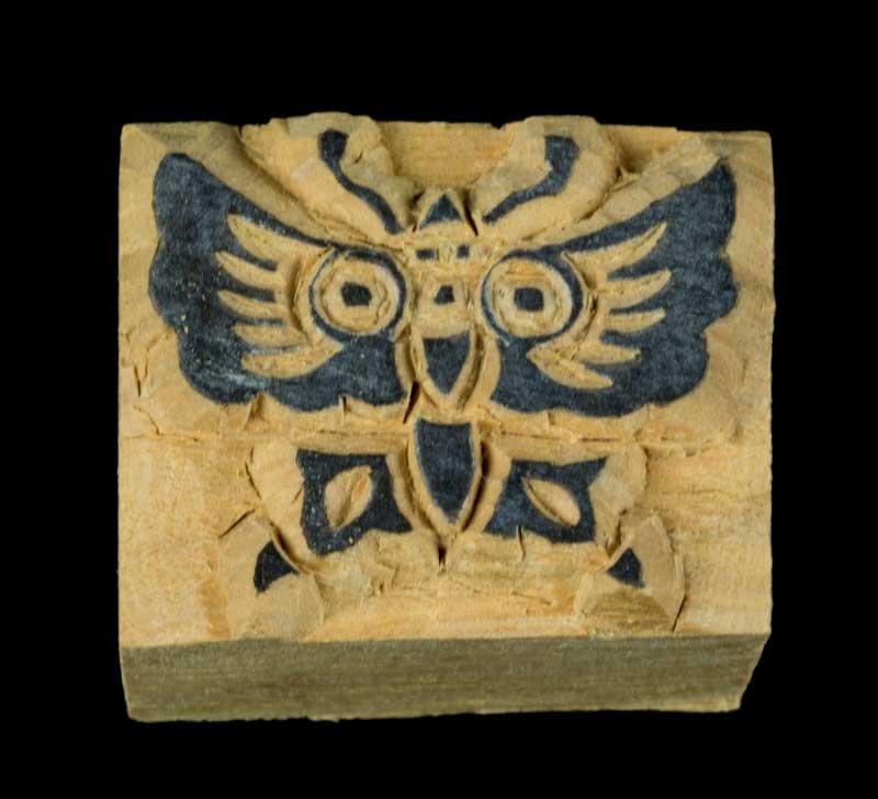 petit papillon tampon encreur bois scrapbooking fabrication artisanale 4944. Black Bedroom Furniture Sets. Home Design Ideas