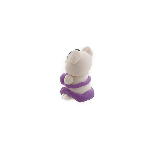 Mini singe garcon figurine en pate polymere fait main Peterandclo 7276