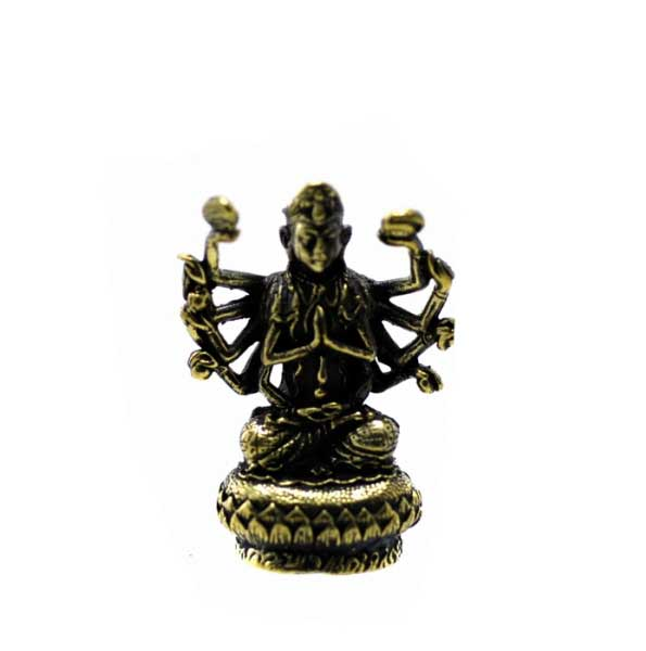 amulette thai guan yin bouddha aux mille bras d30. Black Bedroom Furniture Sets. Home Design Ideas