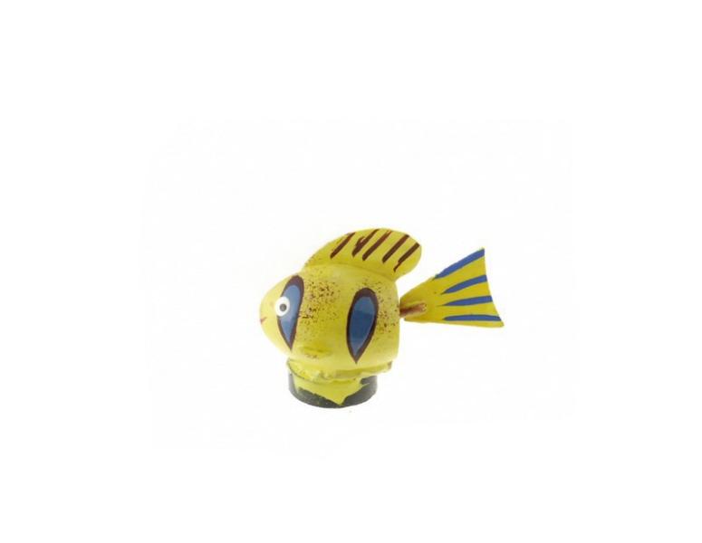 magnet poisson exo graine de pistache statuette du monde des animaux anmaux artisanat. Black Bedroom Furniture Sets. Home Design Ideas