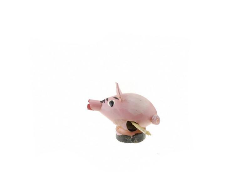 magnet cochon rose graine de pistache statuette du monde des animaux anmaux artisanat. Black Bedroom Furniture Sets. Home Design Ideas