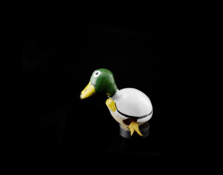 magnet canard col vert graine de pistache statuette du monde des animaux anmaux artisanat. Black Bedroom Furniture Sets. Home Design Ideas