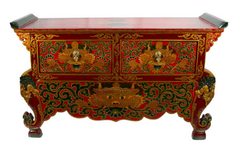 Meubles Tibetains Anciens Et Decoration Tibetaine By Peterandclo