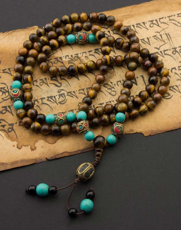 "S2443 41 mm Tibet Dzi Bead Cylindre Agate Jade Corail 18/"" Collier"