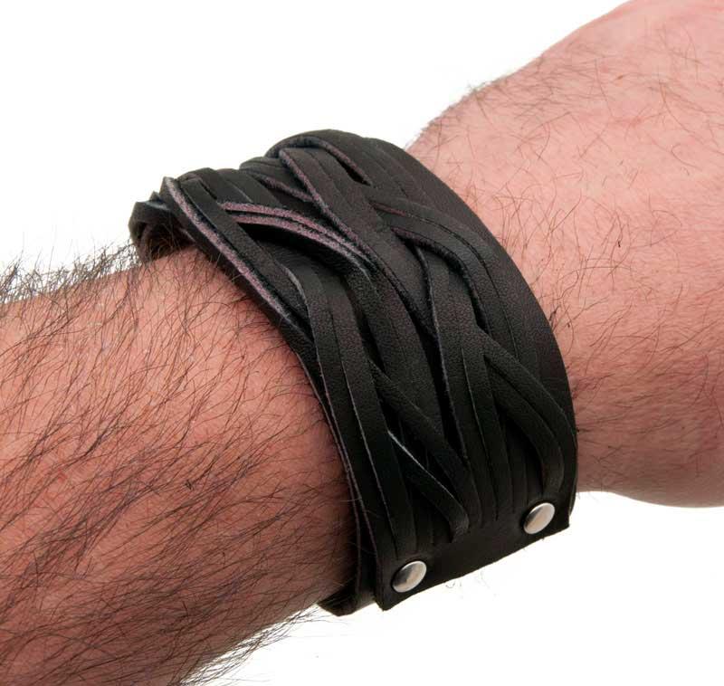 bracelet cuir homme jollia