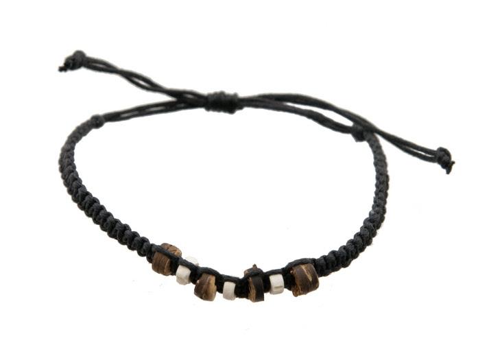 Bracelet bresilien bracelet de l 39 amitie bijoux ethnique cordon ajustable - Longueur fil bracelet bresilien ...