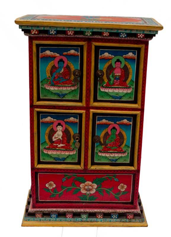 Meubles tibetains meuble ancien asiatique tibet for Achete meuble ancien
