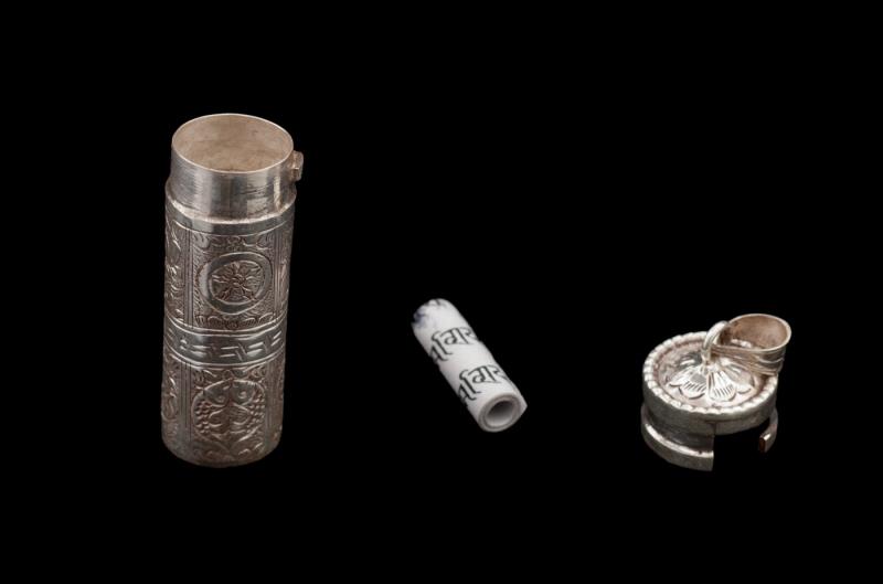 Pendentif tibetain boite mantra bijoux tibetain - Fabrication de boite a bijoux ...