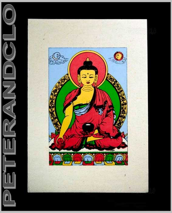 BOUDDHISME TIBETAIN - cartes postales tibetaines - cartes postales nepalaises