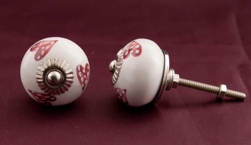 2 boutons de porte poignees de placard tiroir meuble porcelaine 3 7 cm gg5. Black Bedroom Furniture Sets. Home Design Ideas