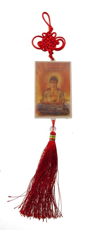 Porte Bonheur Carte Lenticulaire Bouddhiste De Bouddha