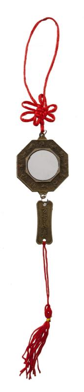 Pendentif Miroir Bagua Talisman Feng Shui
