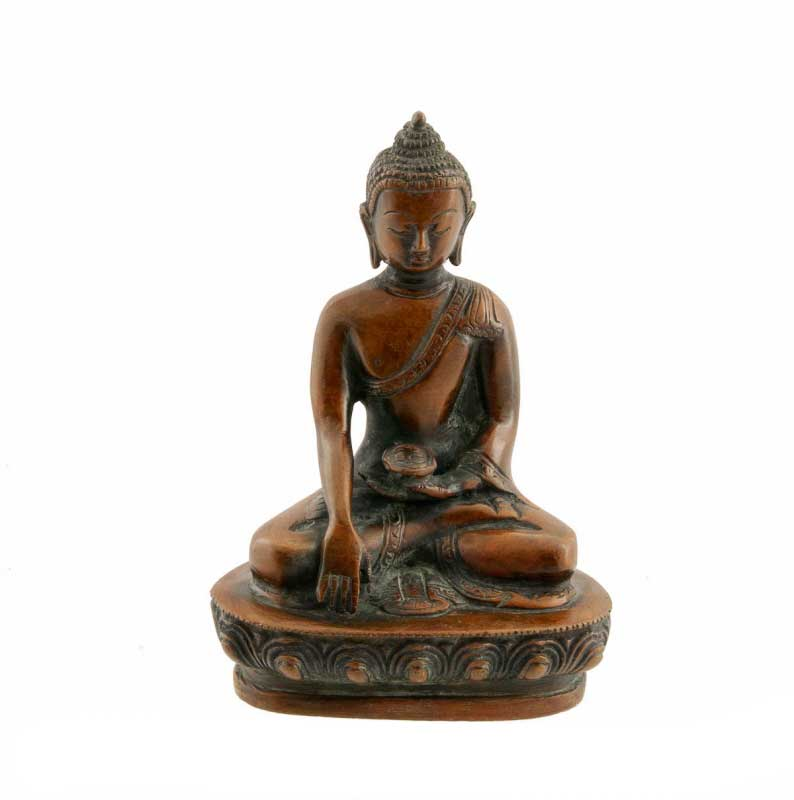 statue tibetaine bouddha artisanat tibetain nepalais. Black Bedroom Furniture Sets. Home Design Ideas