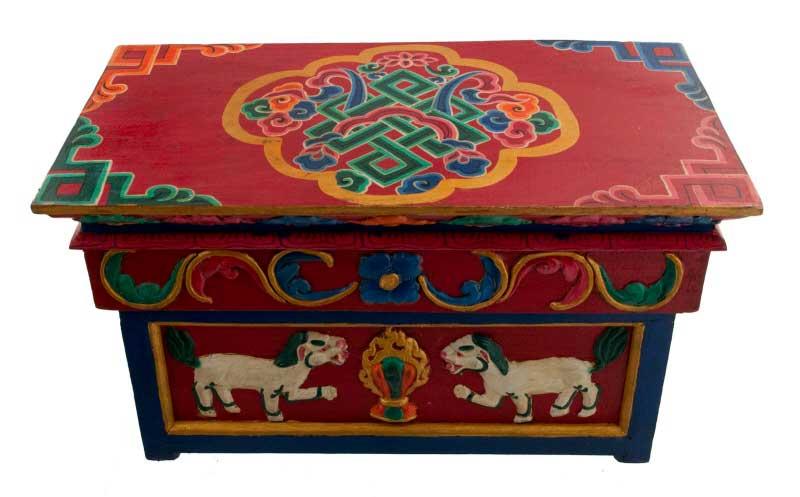 Table tibetaine meubles tibetains bouddhistes for Meuble tibetain
