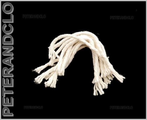 5 meches de 12 cm pour lampe a beurre huile tibetaine dipa - Meche pour lampe a huile ...