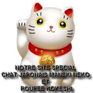 Boutique du Chat japonais maneki-neko