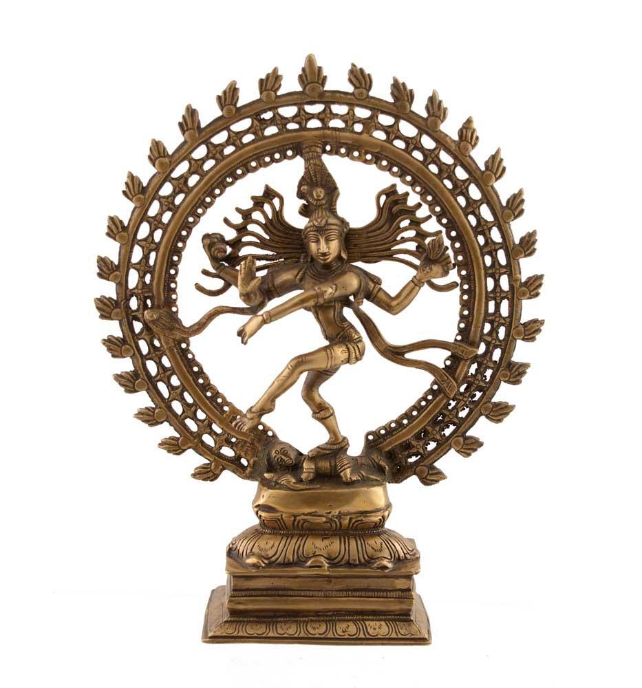 statue de shiva nataraj dansante artisanat inde shiva nataraj nataraja statue statue shiva. Black Bedroom Furniture Sets. Home Design Ideas