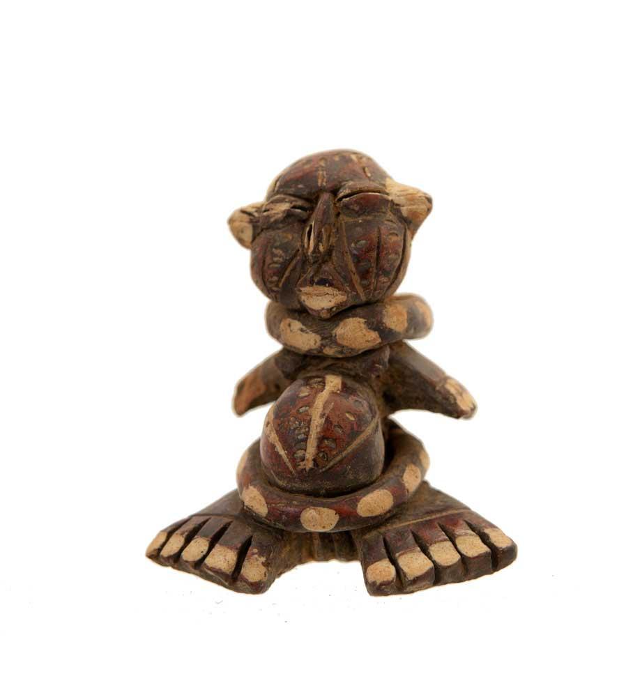 statue africaine en terre cuite