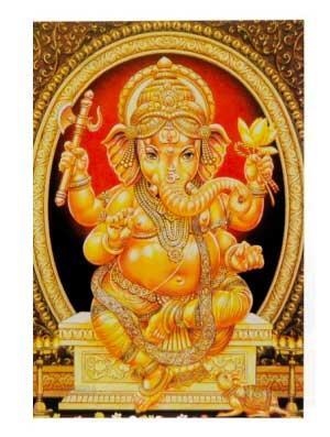 Carte Postale Inde.Carte Postale Lord Vishnu Et Lakshmi Cartes Postales De L